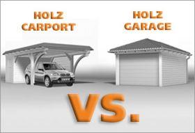 Carport vs. Garage - Die Entscheidung ist individuell | Carport ...