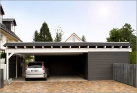 garage mit abstellraum carport nachrichten neues zum. Black Bedroom Furniture Sets. Home Design Ideas