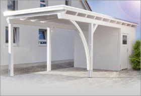 Carport mit Abstellraum - Vorhandener Platz effektiv genutzt ...