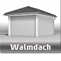 Walmdach Garage