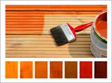 Carport - Holzöl pigmentiert