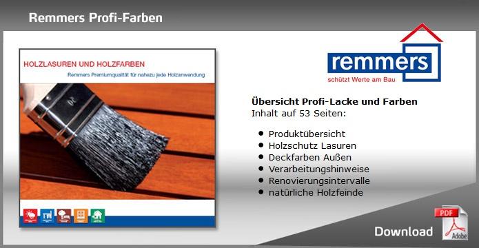 Remmers Profi-Farben Prospekt Download